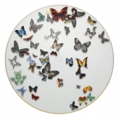 Vista Alegre Butterfly Parade Charger Plate Set Of 2 Multi