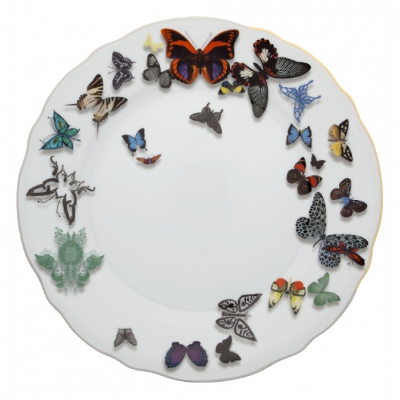 Butterfly Parade Dinner Plate Set of 4