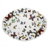 Butterfly Parade Large Oval Platter