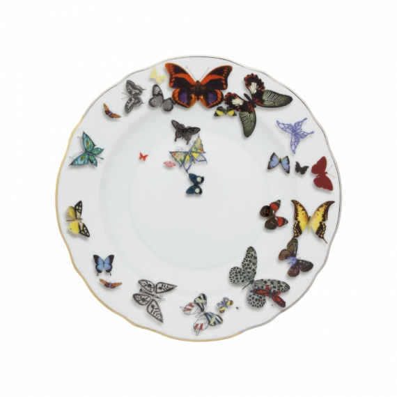 Butterfly Parade Soup Plate Set of 4