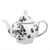 Vista Alegre Butterfly Parade Tea Pot Multi