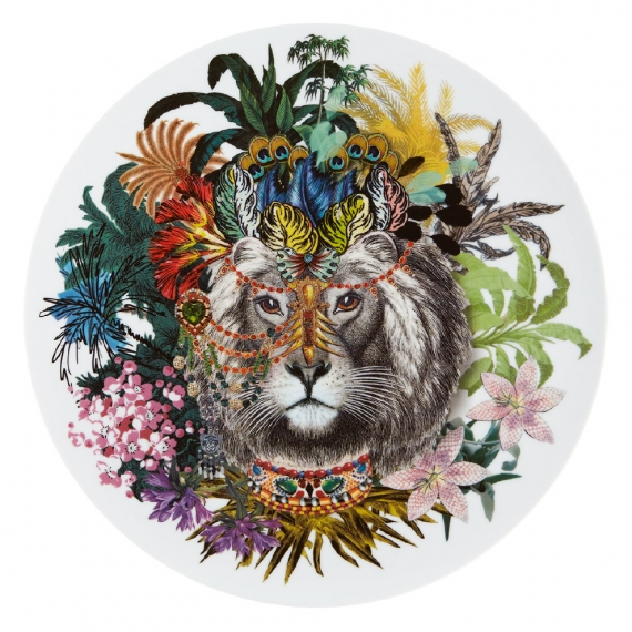 Love Who You Want Charger Plate Jungle King