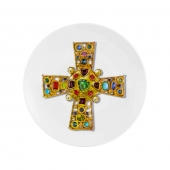 Love Who You Want Dessert Plate Lacroix Byzantine