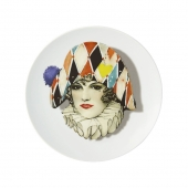 Love Who You Want Dessert Plate Miss Harlequin