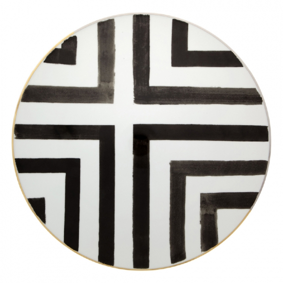 Sol Y Sombra Charger Plate Set of 2