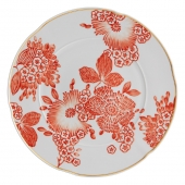 Vista Alegre Coralina Charger Plate Set Of 2 Red