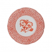 Vista Alegre Coralina Dessert Plate Set Of 4 Red