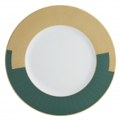 Vista Alegre Emerald Charger Plate Set Of 4 Green