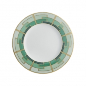 Vista Alegre Emerald Dessert Plate Set Of 4 Multi