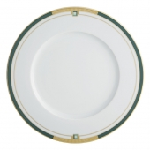 Vista Alegre Emerald Dinner Plate Set Of 4 Green
