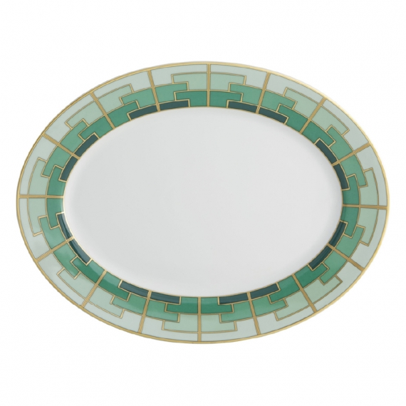 Emerald Small Oval Platter