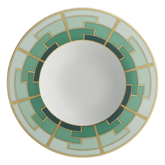 Emerald Soup Plate Set of 4