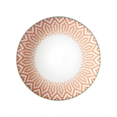 Vista Alegre Fiji Bread And Butter Plate Set Of 4 Orange