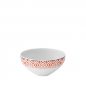 Vista Alegre Fiji Cereal Bowl Set Of 4 Orange