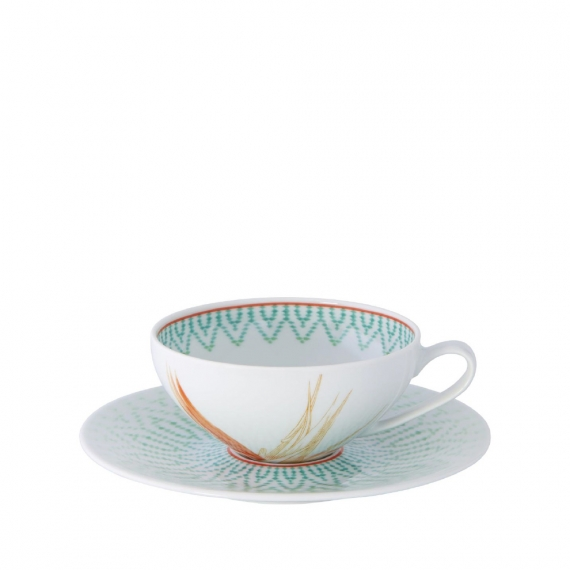 Fiji Tea Cup and Saucer Set of 4
