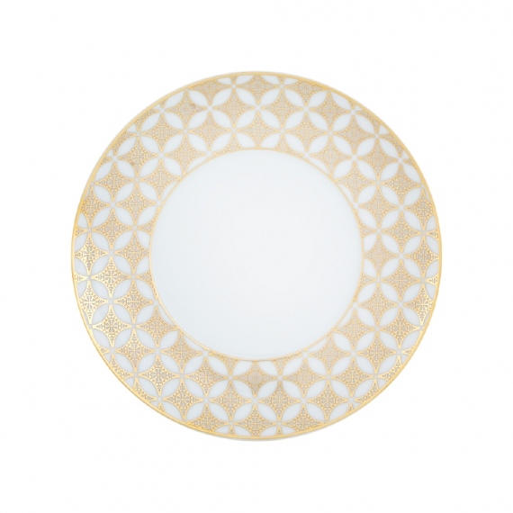 Gold Exotic Bread and Butter Plate Set of 4