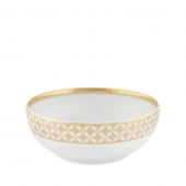 Vista Alegre Gold Exotic Cereal Bowl Set Of 4 Gold