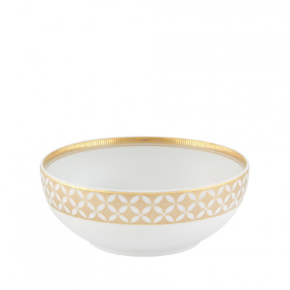 Gold Exotic Cereal Bowl Set of 4