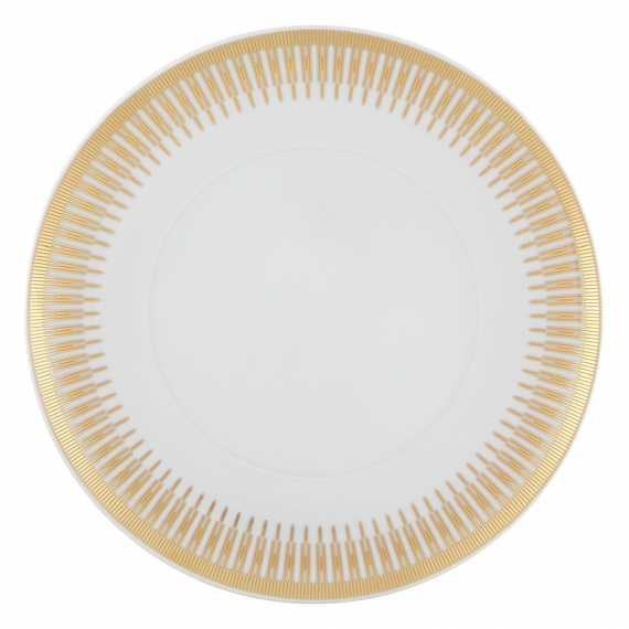 Gold Exotic Dinner Plate Set of 4