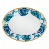 Gold Exotic Medium Oval Platter