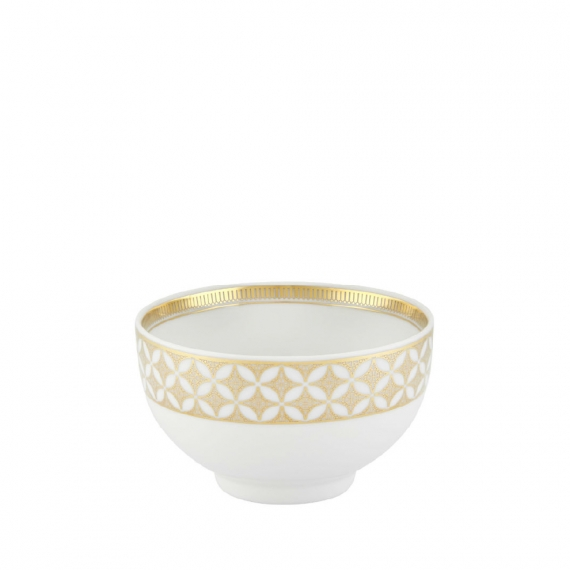 Gold Exotic Rice Bowl Set of 4