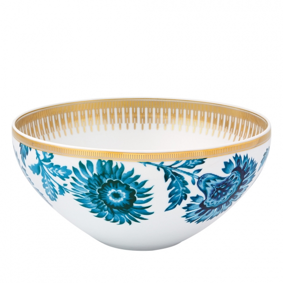 Gold Exotic Salad Bowl