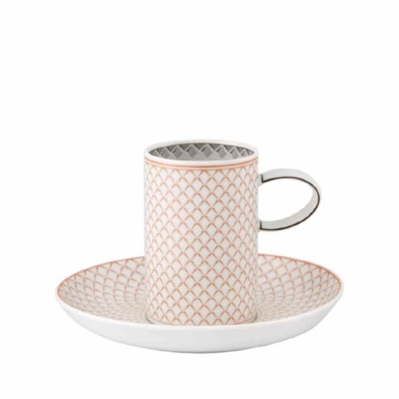 Maya Coffee Cup and Saucer Set of 4