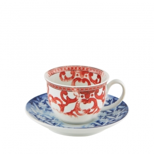 Vista Alegre Timeless Coffee Cup And Saucer Set Of 4 Multi