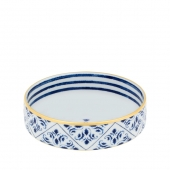 Vista Alegre Transatlantica Bowl Set Of 4 Blue
