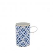 Vista Alegre Transatlantica Mug Set Of 4 Blue