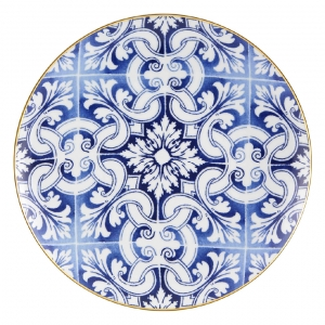 Transatlantica Charger Plate Azulejos Set of 2