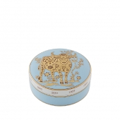 Golden Round Box Ox