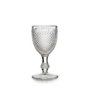 Vista Alegre Bicos Set With 4 Red Wine Goblets