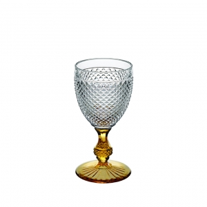 Bicos Bicolor Goblet with Colored Stem