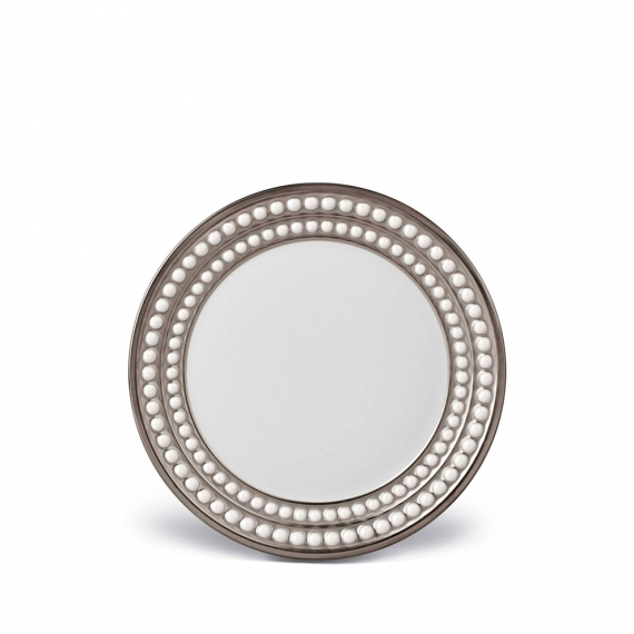 Perlée Bread and Butter Plate - Platinum