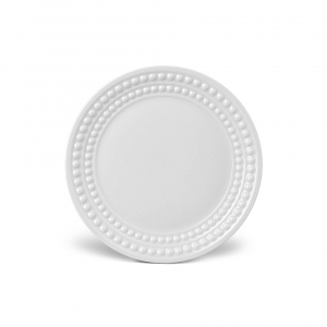 L'Objet Perlée Bread and Butter Plate White