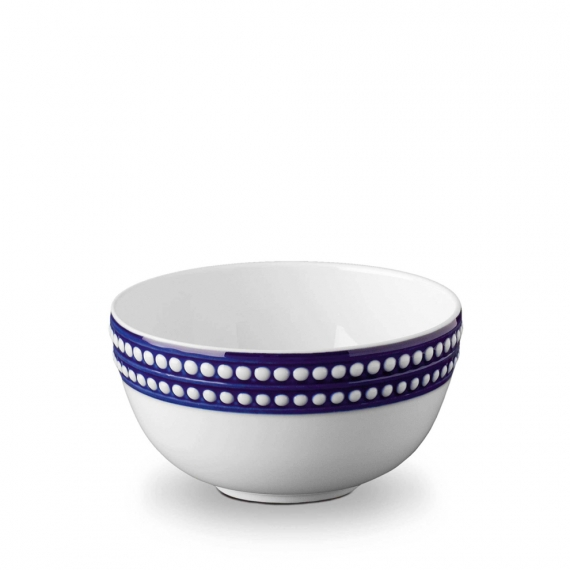 Perlée Cereal Bowl - Blue