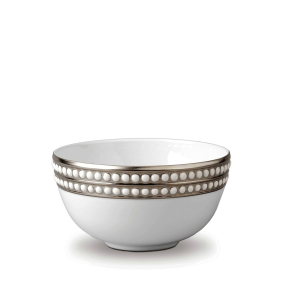 Perlée Cereal Bowl - Platinum