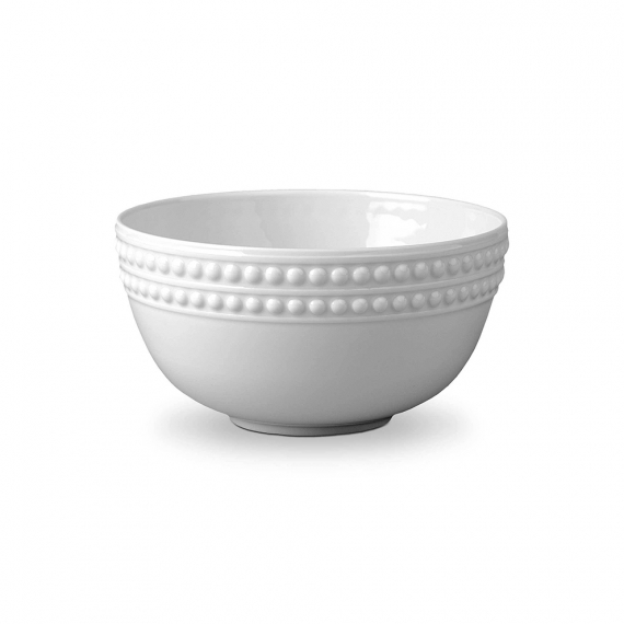 Perlée Cereal Bowl - White