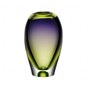 Vision Vase Green Purple