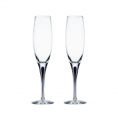 Orrefors Intermezzo Blue Champagne Love And Happiness Blue Clear