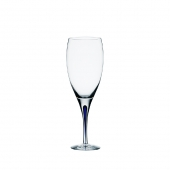 Orrefors Intermezzo Blue Goblet Clear