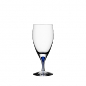 Orrefors Intermezzo Blue Iced Beverage Clear