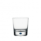 Orrefors Intermezzo Blue Double Old Fashioned Clear