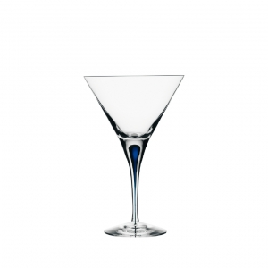 Orrefors Intermezzo Blue Martini Clear