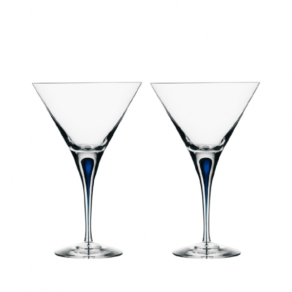 Intermezzo Blue Martini Pair