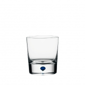 Orrefors Intermezzo Blue Old Fashioned Clear