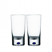 Orrefors Intermezzo Blue Tumbler Pair Clear