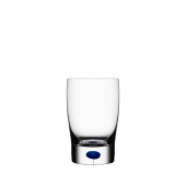 Orrefors Intermezzo Blue Tumbler And Juice Small Clear