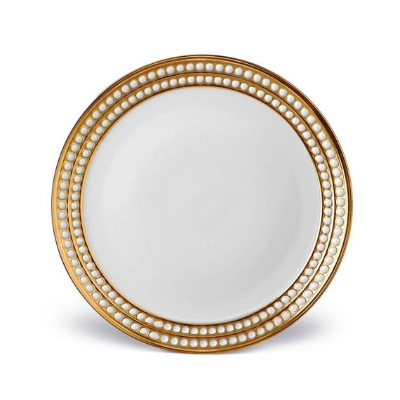 Perlée Dinner Plate - Gold